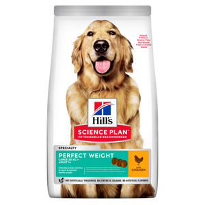 Hill's™ Science Plan™ Canine Adult Perfect Weight Large Breed with Chicken 12kg - The Vet Store Online