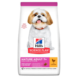 Hill's™ Science Plan™ Canine Mature Adult 7+ Active Longevity™ Mini with Chicken - The Vet Store Online