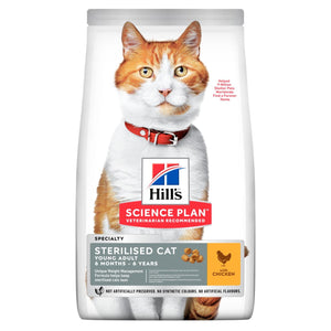Hill's™ Science Plan™ Sterilised Cat Young Adult Chicken