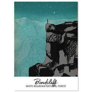 Bondcliff Mountain Postcard