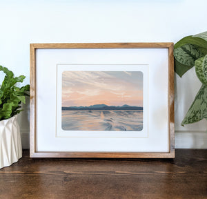 Lovewell Pond, Maine, 8x10 Framed Art Print - Kat Maus Haus