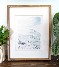 Load image into Gallery viewer, Presidential Range, New Hampshire, 8x10 Framed Art Print - Kat Maus Haus