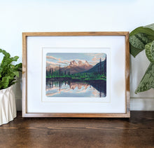Load image into Gallery viewer, Canmore, Alberta, 8x10 Framed Art Print - Kat Maus Haus