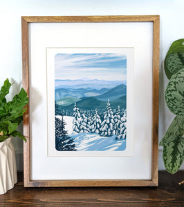 Killington, Vermont, 8x10 Framed Art Print - Kat Maus Haus