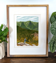 Load image into Gallery viewer, Kinsman Range, New Hampshire, 8x10 Framed Art Print - Kat Maus Haus