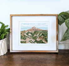 Load image into Gallery viewer, Pacific Crest Trail, 8x10 Framed Art Print - Kat Maus Haus