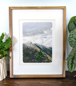 Mt. Webster, New Hampshire, 8x10 Framed Art Print - Kat Maus Haus