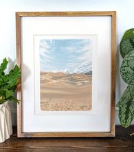 Load image into Gallery viewer, Great Sand Dunes National Park, Colorado, 8x10 Framed Art Print - Kat Maus Haus