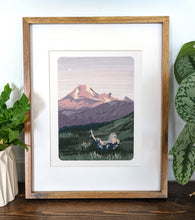 Load image into Gallery viewer, Mt. Baker, Washington, 8x10 Framed Art Print - Kat Maus Haus
