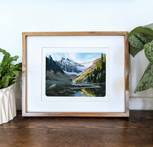 Lake Louise, Canada, 8x10 Framed Art Print - Kat Maus Haus