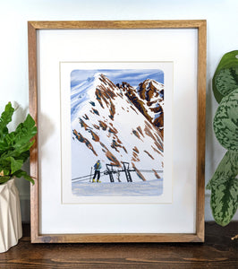 Mt. Titlis, Switzerland, 8x10 Framed Art Print - Kat Maus Haus