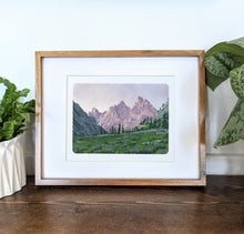 Load image into Gallery viewer, Grand Teton National Park, Wyoming, 8x10 Framed Art Print - Kat Maus Haus