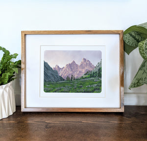 Grand Teton National Park, Wyoming, 8x10 Framed Art Print - Kat Maus Haus
