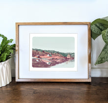 Load image into Gallery viewer, Norway, 8x10 Framed Art Print - Kat Maus Haus
