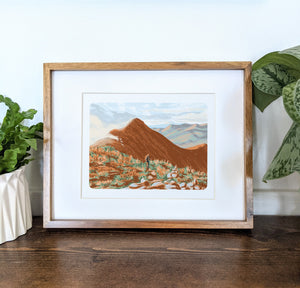 Bondcliff, New Hampshire, 8x10 Framed Art Print - Kat Maus Haus