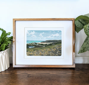 Truro, Massachusetts, 8x10 Framed Art Print - Kat Maus Haus