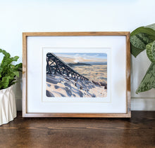 Load image into Gallery viewer, Mt. Washington, New Hampshire, 8x10 Framed Art Print - Kat Maus Haus