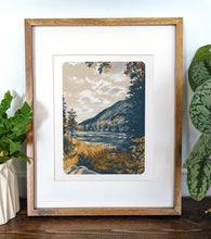 Load image into Gallery viewer, Carter Notch, New Hampshire, 8x10 Framed Art Print - Kat Maus Haus