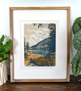 Carter Notch, New Hampshire, 8x10 Framed Art Print - Kat Maus Haus