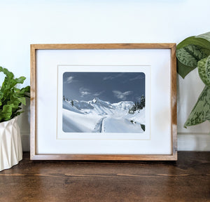 Mt. Baker, Washington, 8x10 Framed Art Print - Kat Maus Haus