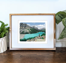 Load image into Gallery viewer, Peyto Lake, Canada, 8x10 Framed Art Print - Kat Maus Haus