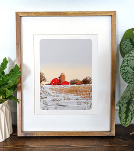 Canton, New York, 8x10 Framed Art Print - Kat Maus Haus