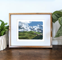 Load image into Gallery viewer, Kleine Scheidegg, Switzerland, 8x10 Framed Art Print - Kat Maus Haus