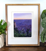 Load image into Gallery viewer, Grand Canyon National Park, Arizona, 8x10 Framed Art Print - Kat Maus Haus