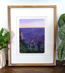 Grand Canyon National Park, Arizona, 8x10 Framed Art Print - Kat Maus Haus