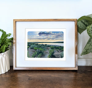 Crystal Crane Hot Springs, Oregon, 8x10 Framed Art Print - Kat Maus Haus