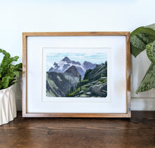 Load image into Gallery viewer, Mt. Shuksan, Washington, 8x10 Framed Art Print - Kat Maus Haus