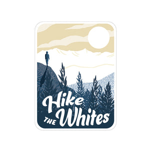 """Hike the Whites"" Sticker"
