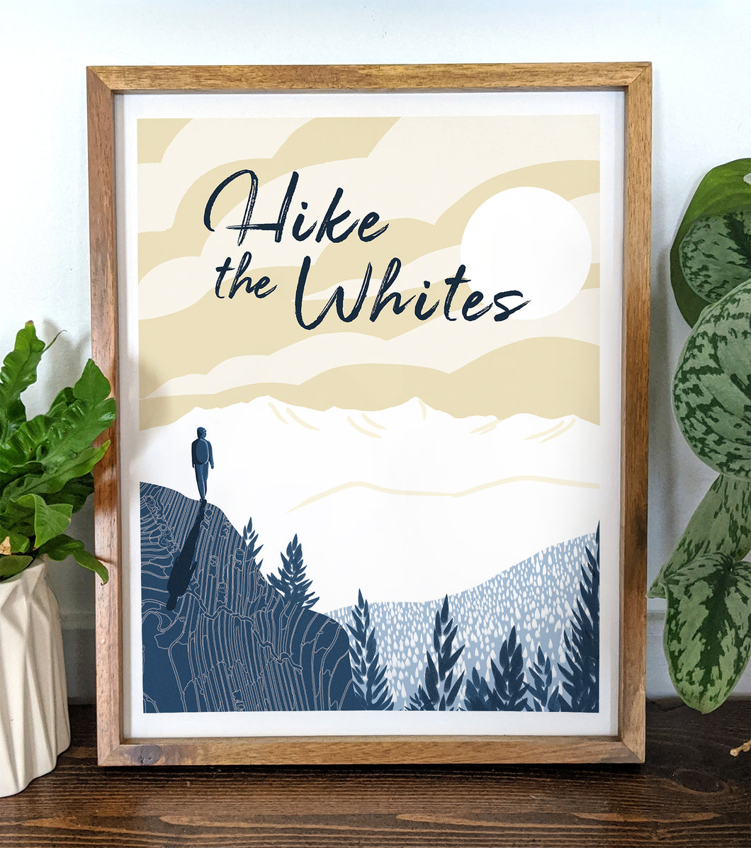 Hike the Whites Print