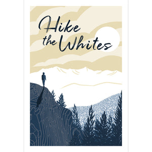 Hike the Whites Art Print 12x18  - Kat Maus Haus