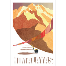 Load image into Gallery viewer, Himalayas Art Print 12x18  - Kat Maus Haus