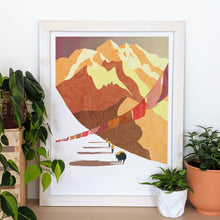 Load image into Gallery viewer, Himalayas Trekking Print
