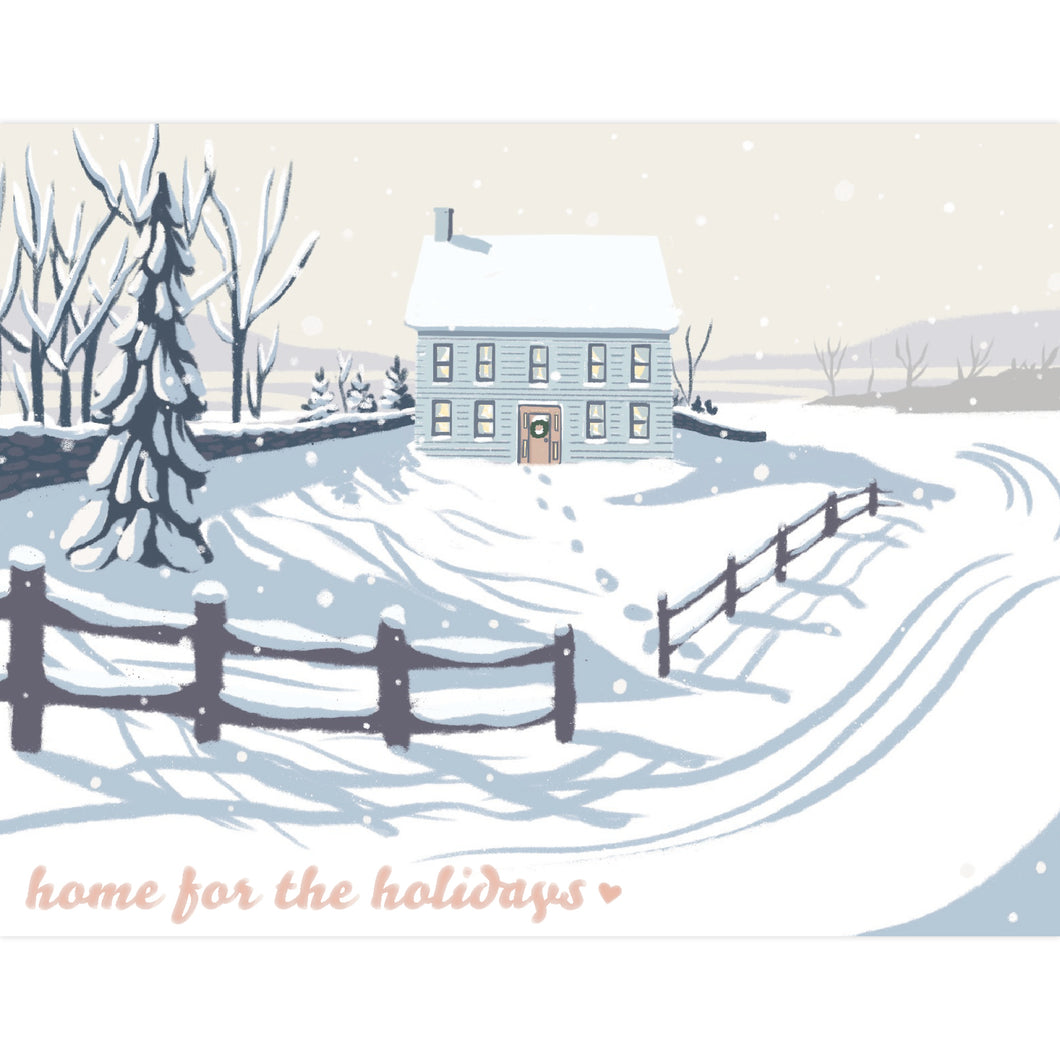 Home for the Holidays Greeting Card
