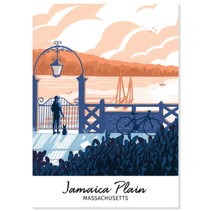 Jamaica Plain, Massachusetts Postcard