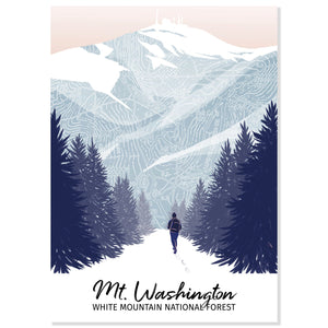 Mt. Washington Postcard