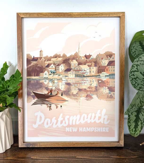 Portsmouth, New Hampshire Print