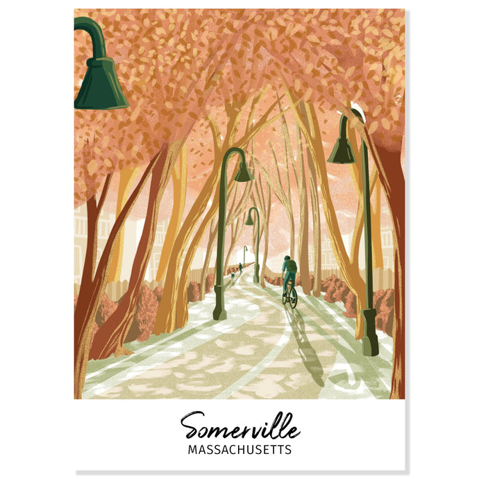 Somerville, Massachusetts Postcard