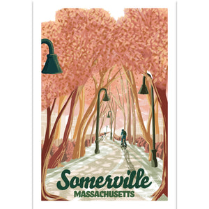 Somerville, Massachusetts Illustration
