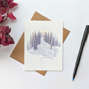 """Adventures in the White Mountains"" Greeting Cards"