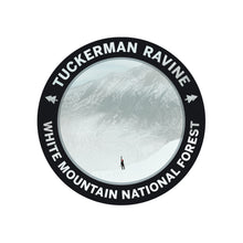 Load image into Gallery viewer, Set of 5 Vinyl White Mountain Stickers