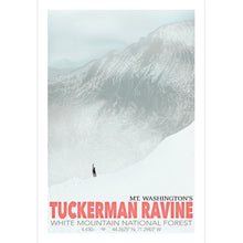 Load image into Gallery viewer, Tuckerman Ravine Art Print 12x18  - Kat Maus Haus