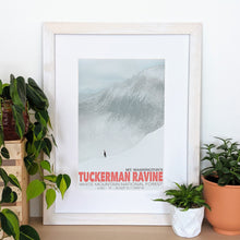 Load image into Gallery viewer, Tuckerman Ravine Art Print 12x18 Framed - Kat Maus Haus