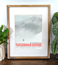Load image into Gallery viewer, Tuckerman Ravine Art Print 8x10 Framed - Kat Maus Haus