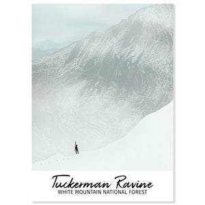 Tuckerman Ravine Postcard