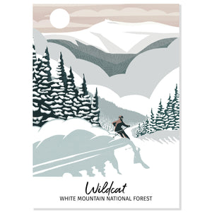 Wildcat Skiing Postcard