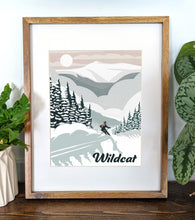 Load image into Gallery viewer, Wildcat Art Print 8x10 Framed - Kat Maus Haus